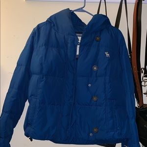 Abercrombie Down Puff Jacket